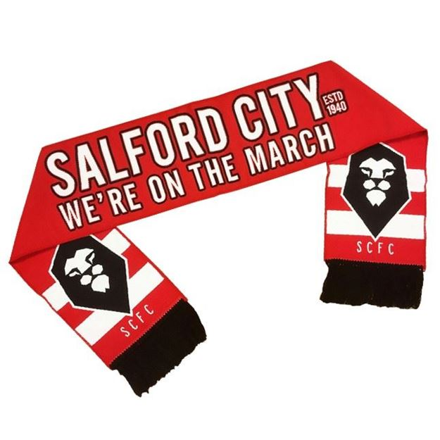 Picture of SALFORD CITY Woven Scarf