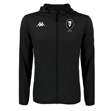 Picture of SALFORD CITY ADULTS Kappa Telve Zip Jacket in Black
