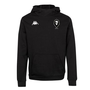 Picture of SALFORD CITY JUNIOR Kappa Black Basilo fleece hoody