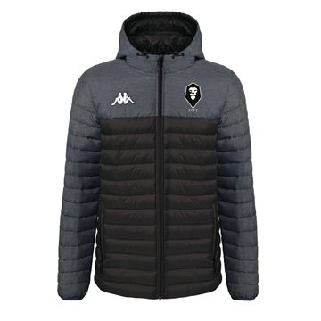 Picture of SALFORD CITY JUNIOR Kappa Black Lamezio Jacket