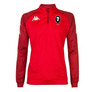 Picture of SALFORD CITY JUNIOR Kappa Red Trieste Sweatshirt