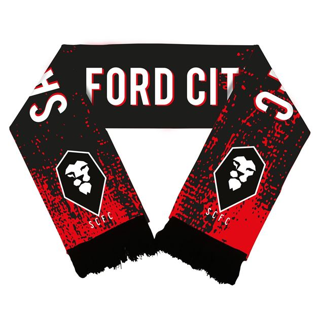 Picture of Salford City HIGH DEFINITION WOVEN SCARF